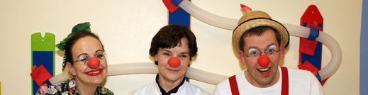 Klinikclowns & Frau Prof. Dr. med. Christina Kohlhauser Vollmuth