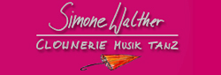 Simone Walther Clownerie Musik Tanz