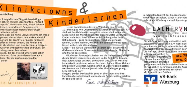 Fotoausstellung Klinikclowns Kinderlachen