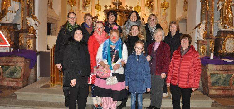 Benefizkonzert in der Gernacher St. Aegidius Kirche zu Gunsten der Klinikclowns Lachtränen Würzburg