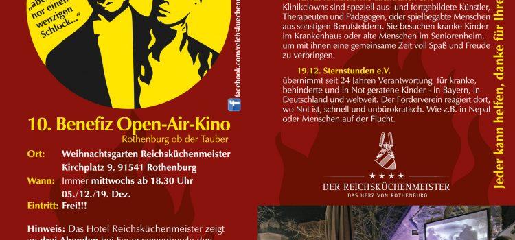 Kult Benefizveranstaltung Open-Air-Kino geht in die 10. Runde