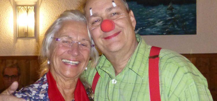 Die Würzburger Klinik-Clowns beim Orden St. Fortunat