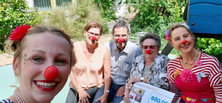 65. Hochzeitstag Jubelpaar spendet 680 Euro an die Klinikclowns Würzburg