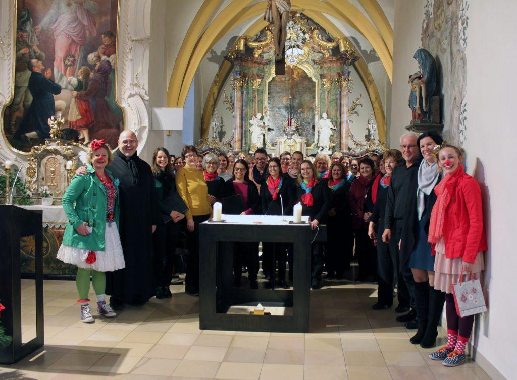 Spende Klinikclowns Würzburg Benefizkonzert Gerlachshausen