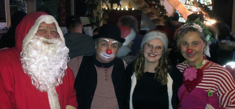 Gleich zwei Familien engagieren sich und spenden für die Arbeit der KlinikClowns Würzburg