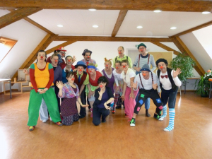 Fortbildung zum Thema guter Clown - böser Clown mit dem Clown-Projekt Nürnberg