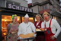 Martinsgänse und Clowns in der Bäckerei Schiffer