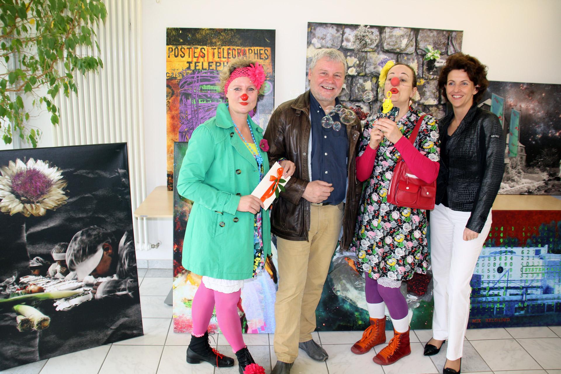 DANKE für die Spenden durch die Phantastischen Welten Ausstellung bei Kräuter Mix