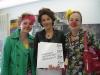 Schlawine und Machnix stellen die Klinikclowns der Geschäftsführerin der Firma Kräuter Mix, Frau Wurlitzer vor