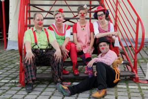 Böhnchen, Schlawine, Prinzessin Lilli, Schlotta und Jojo beim Zirkus Roncalli